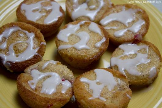 Gluten Free Dairy Free Lemon Raspberry Muffins